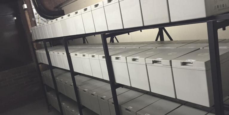 Brandon Medical UPS battery rack