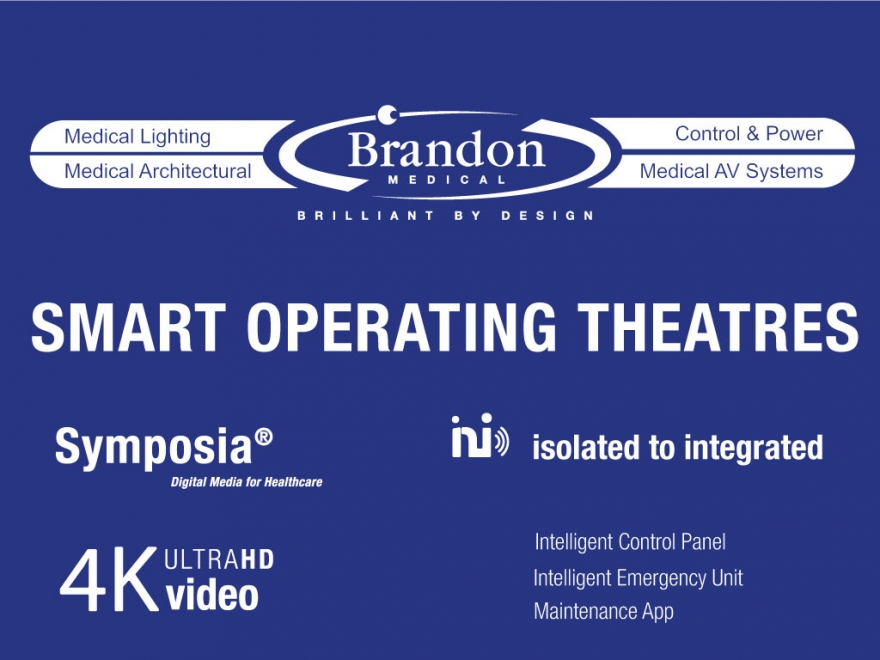 Brandon Medical smart operating theatre range