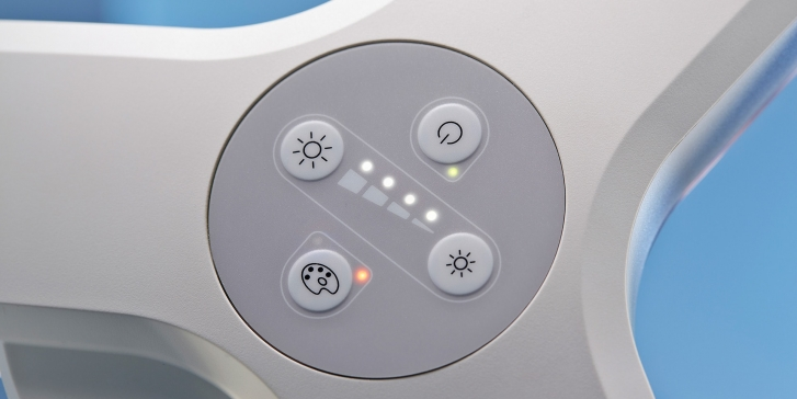 Coolview CLED23 Control panel
