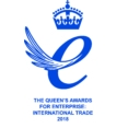 Logo for The Queen's Awards for Enterprise: International Trade 2010