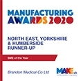 SME of the YEar Runner Up 2020 Make Uk Manufacturing Awards_Brandon Medical Co
