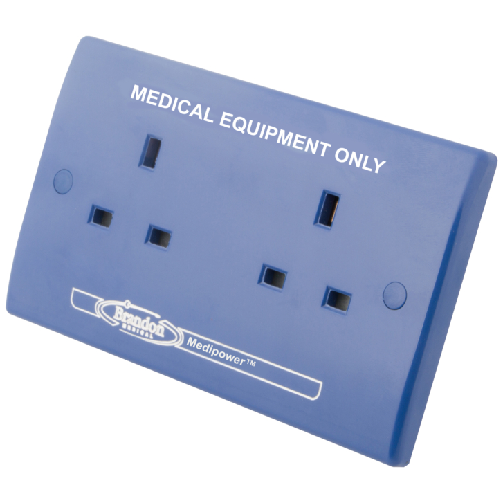Clean Earth Unswitched Blue Sockets